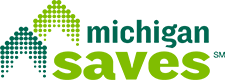 The Michigan Saves logo.