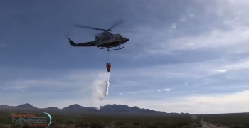 Fighting fires at NNSS