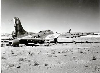 B-17: Lady Yucca (before)