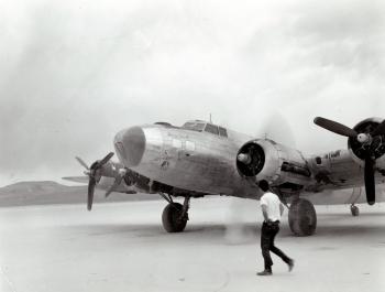 B-17: Lady Yucca (after)