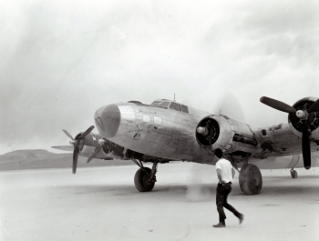B-17: Lady Yucca (after)