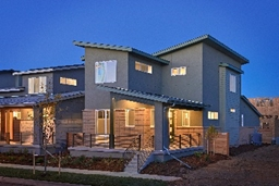 Photo of a house. Figure 2: Photo courtesy of Thrive Home Builders.