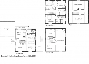 DOE Tour of Zero: Green Acres #26 by Greenhill Contracting floorplans.