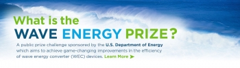 What is the Wave Energy Prize?