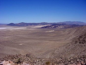 Shoal, Nevada, Site—Looking northwest at Four Mile Flat