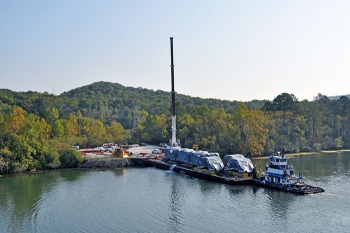 UniTech Services Group funded the refurbishment of the East Tennessee Technology Park's barge area to receive and transport shipments using local river systems, adding to the site's robust offerings and infrastructure.