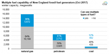 multiple fuel capability in New England