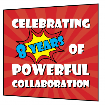celebrating 8 years of powerful collaboration