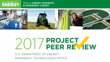 2017 Project Peer Review Report cover.