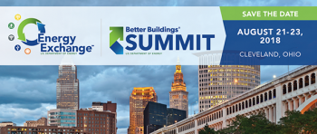 Save the date for Better Buildings Summit.
