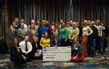 Washington River Protection Solutions provided $30,000 to the 2017 Small Business Incentive Grant Program, which awards up to $2,000 in individual grants to local small businesses.