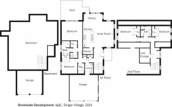 DOE Tour of Zero: Singer Village by Brookside Development LLC floorplans.
