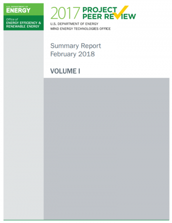 The cover of the Peer Review Report, Volume I