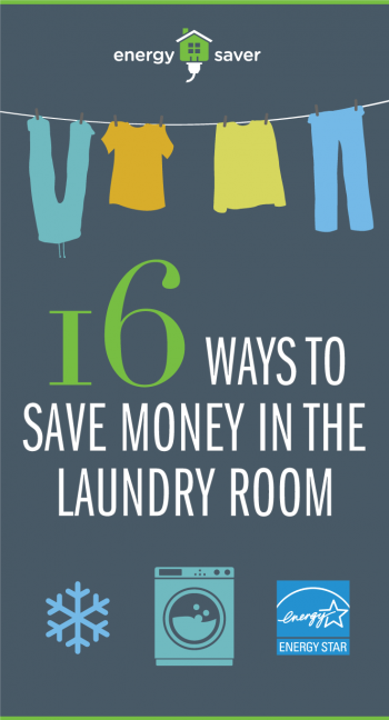 16 Ways to Save Money in the Laundry Room