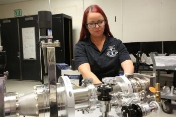 Destiny Goddu of Lawrence Livermore National Laboratory
