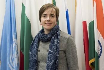 Erika Hunsicker of NNSA's Office of Radiological Security