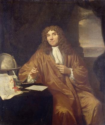 Dutch scientist Anton van Leeuwenhoek
