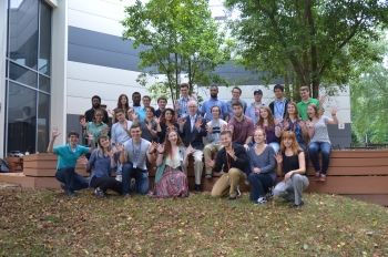 Jefferson Lab Director Stuart Henderson, during July 2017, shared his experiences leading to his career as a physicist and Jefferson Lab's newest director, with college undergraduates participating in summer internship programs at the lab.