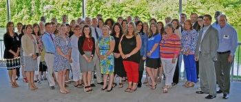 The 2017 grant winners gather with URS | CH2M Oak Ridge representatives.