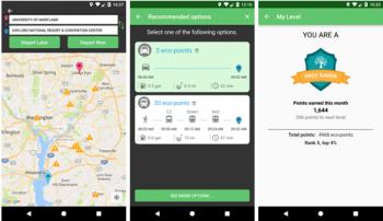 The Energy-Saving Travel App: University of Maryland TRANSNET