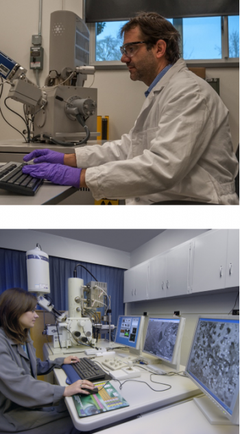 National Energy Technology Laboratoy microscopists