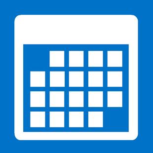 calendar image for website