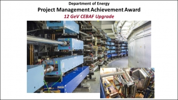 2018 Project Management Awards - 12 GeV Project