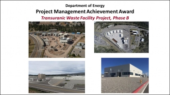 2018 PM Workshop Awards - TWF Project