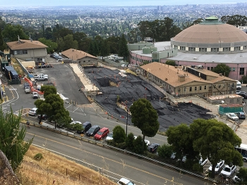 The Lawrence Berkeley National Laboratory Old Town area after completion of the first of four cleanup phases.
