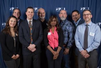 left to right: Rochelle Twomey (CHPRC), Mark Malloy (Intermech Inc), Andre LaBonte (CHPRC), Mark Wright (CHPRC), Jhivaun Freeman-Pollard (CHPRC), Darin Corriell (CHPRC), Luis Ojeda (Ojeda Business Ventures), Kory Voldman (CHPRC).