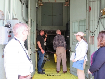 The Oak Ridge Office of Environmental Management provides tours to Oak Ridge Site Specific Advisory Board members to give them an up-close look at current projects.