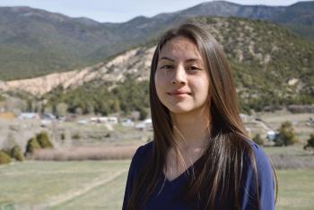 Charlyna Gonzales, 2017 LANL Scholar.