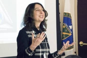Dr. Nina Rosenberg of Los Alamos National Laboratory