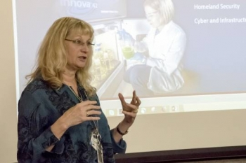 Dr. Holly Dockery of Sandia National Laboratories