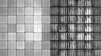 solar cell imaging under lights