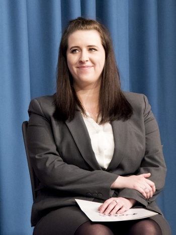 NNSA's recipient of the 2018 Linton F. Brooks Medal for Dedication to Public Service: Kaylyn Peters.