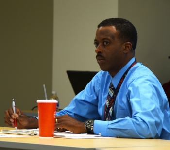 Ronald Trott, a U.S. Marine Corps veteran, works in NNSA's Office of Acquisition and Project Management.