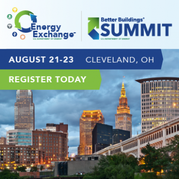 Better Buildings Summit icon - Register today