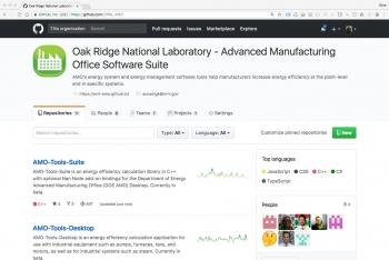 ORNL GitGub home page.
