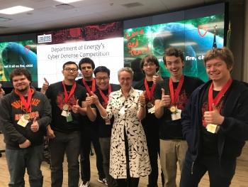 Photo of DAS Streit with winners