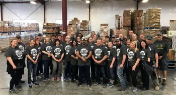 Mission Support Alliance organizes at least four volunteer events at Second Harvest each year because employees feel so strongly about the organization and enjoy seeing the tangible results of their efforts.