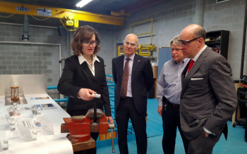 Under Secretary for Science Paul Dabbar visits Ames National Laboratory