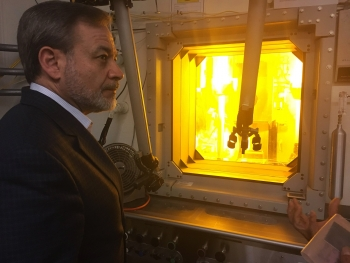Dan Brouillette, Deputy Secretary of the U.S. Department of Energy, visits Savannah River National Lab