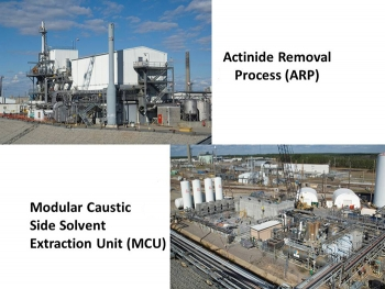 The Actinide Removal Process/Modular Caustic Side Solvent Extraction Unit (ARP/MCU) facilities.