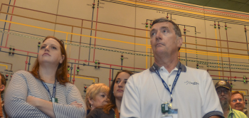 CAB members tour the C-300 Central Control Facility with a nationwide group of EM SSAB stakeholder boards hosted by the Paducah CAB.