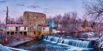 Photo of Weisenberger Mill in Kentucky.