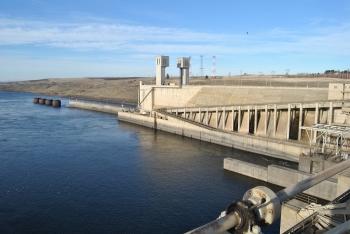 Photo of Ice Harbor Dam in Washington.