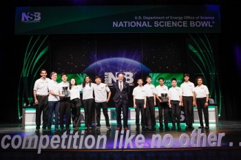 National Science Bowl winners crowned