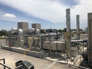 DOE partnered with NASA's Johnson Space Center to launch a new combined heat and power plant to generate 70% of the center's electricity requirements.