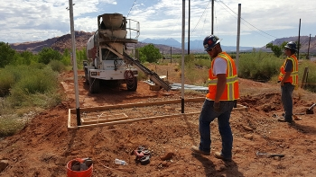Bodec Electric, Inc. helps with electrical upkeep at the Moab and Crescent Junction project sites.